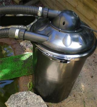 turtle pond filtration
